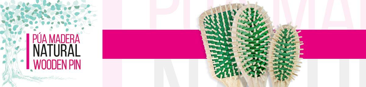 Púa madera - Colección madera: Peines y cepillos de Casalfe